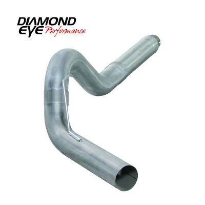 Diamond Eye Performance - Diamond Eye Performance 13-14 DODGE 6.7L CUMMINS 5 DIESEL PARTICULATE FILTER BACK SINGLE 409 STAINLESS K5256A
