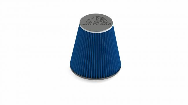 Bully Dog - Bully Dog RFI cone replacement filter, 8 layer cotton gauze 224800