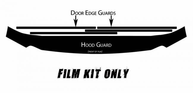 Husky Liners - Husky Liners Hood and Door Edge Pre-cut Paint Protection Film 06821
