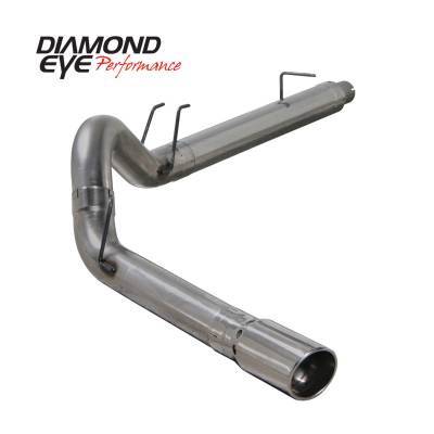 EXHAUST - EXHAUST KITS - Diamond Eye Performance - Diamond Eye Performance 2008-2010 FORD 6.4L POWERSTROKE F250/F350 (ALL CAB AND BED LENGTHS) 5in. 409 STA K5364S