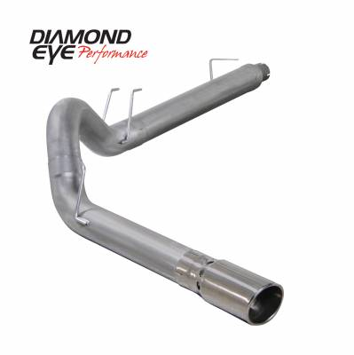 Diamond Eye Performance - Diamond Eye Performance 2008-2010 FORD 6.4L POWERSTROKE F250/F350 (ALL CAB AND BED LENGTHS) 5in. ALUMINZ K5364A