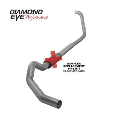 EXHAUST - EXHAUST KITS - Diamond Eye Performance - Diamond Eye Performance 2003-2007 FORD 6.0L POWERSTROKE F250/F350 (ALL CAB AND BED LENGTHS) 5in. ALUMINI K5350A-RP