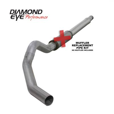 EXHAUST - EXHAUST KITS - Diamond Eye Performance - Diamond Eye Performance 2003-2007 FORD 6.0L POWERSTROKE F250/F350 (ALL CAB AND BED LENGTHS) 5in. ALUMINI K5344A-RP