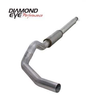 EXHAUST - EXHAUST KITS - Diamond Eye Performance - Diamond Eye Performance 1994-1997.5 FORD 7.3L POWERSTROKE F250/F350 (ALL CAB AND BED LENGTHS) 5in. ALUMI K5316A