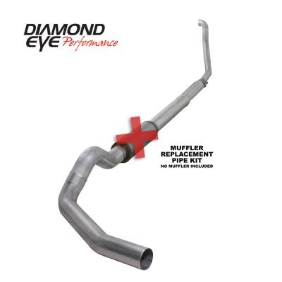 PERFORMANCE - EXHAUST - Diamond Eye Performance - Diamond Eye Performance 1994-1997.5 FORD 7.3L POWERSTROKE F250/F350 (ALL CAB AND BED LENGTHS) 5in. ALUMI K5315A-RP
