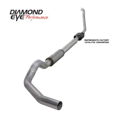 EXHAUST - EXHAUST KITS - Diamond Eye Performance - Diamond Eye Performance 1994-1997.5 FORD 7.3L POWERSTROKE F250/F350 (ALL CAB AND BED LENGTHS) 5in. ALUMI K5314A