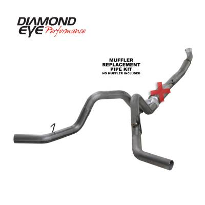 EXHAUST - EXHAUST KITS - Diamond Eye Performance - Diamond Eye Performance 2004.5-2007.5 DODGE 5.9L CUMMINS 2500/3500 (ALL CAB AND BED LENGTHS)-5in. 409 ST K5246S-RP