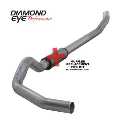 EXHAUST - EXHAUST KITS - Diamond Eye Performance - Diamond Eye Performance 2004.5-2007.5 DODGE 5.9L CUMMINS 2500/3500 (ALL CAB AND BED LENGTHS)-5in. ALUMIN K5238A-RP