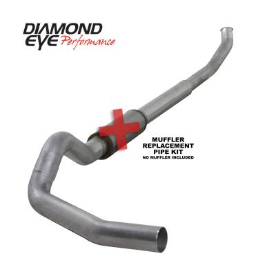 EXHAUST - EXHAUST KITS - Diamond Eye Performance - Diamond Eye Performance 2003-2004.5 DODGE 5.9L CUMMINS 2500/3500 (ALL CAB AND BED LENGTHS)-5in. ALUMINIZ K5222A-RP