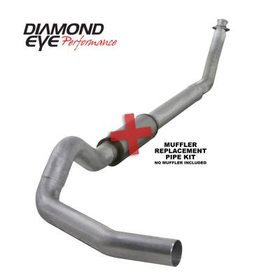 EXHAUST - EXHAUST KITS - Diamond Eye Performance - Diamond Eye Performance 1994-2002 DODGE 5.9L CUMMINS 2500/3500 (ALL CAB AND BED LENGTHS)-5in. ALUMINIZED K5216A-RP