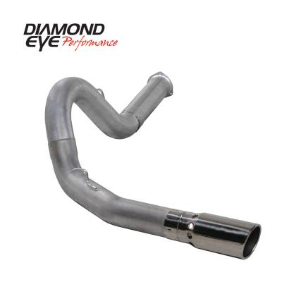 EXHAUST - EXHAUST KITS - Diamond Eye Performance - Diamond Eye Performance 2007.5-2010 CHEVY/GMC 6.6L DURAMAX 2500/3500 (ALL CAB AND BED LENGHTS) 5in. ALUM K5134A
