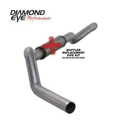 PERFORMANCE - EXHAUST - Diamond Eye Performance - Diamond Eye Performance 2006-2007.5 CHEVY/GMC 6.6L DURAMAX 2500/3500 (ALL CAB AND BED LENGTHS) 5in. ALUM K5126A-RP