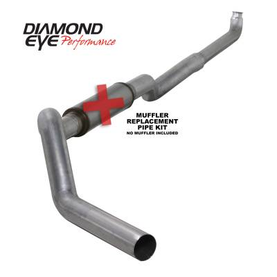 EXHAUST - EXHAUST KITS - Diamond Eye Performance - Diamond Eye Performance 2001-2007.5 CHEVY/GMC 6.6L DURAMAX 2500/3500 (ALL CAB AND BED LENGHTS) 5in. ALUM K5118A-RP
