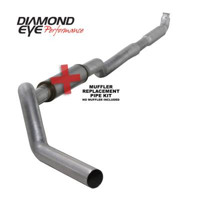 EXHAUST - EXHAUST KITS - Diamond Eye Performance - Diamond Eye Performance 2001-2007.5 CHEVY/GMC 6.6L DURAMAX 2500/3500 (ALL CAB AND BED LENGHTS) 5in. ALUM K5117A-RP