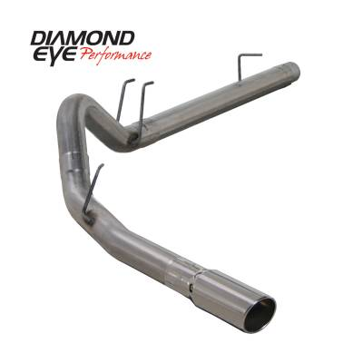 EXHAUST - EXHAUST KITS - Diamond Eye Performance - Diamond Eye Performance 2008-2010 FORD 6.4L POWERSTROKE F250/F350 (ALL CAB AND BED LENGTHS) 4in. 409 STA K4360S