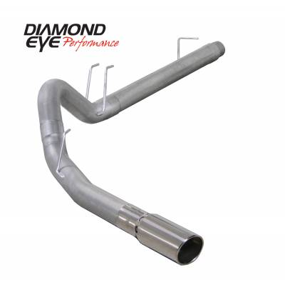 EXHAUST - EXHAUST KITS - Diamond Eye Performance - Diamond Eye Performance 2008-2010 FORD 6.4L POWERSTROKE F250/F350 (ALL CAB AND BED LENGTHS) 4in. ALUMINZ K4360A