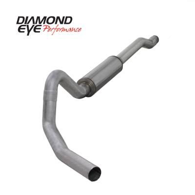 EXHAUST - EXHAUST KITS - Diamond Eye Performance - Diamond Eye Performance 2003-2006 FORD 6.0L POWERSTROKE EXCURSION-4in. ALUMINIZED-PERFORMANCE DIESEL EXH K4354A