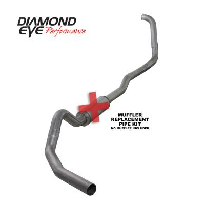 EXHAUST - EXHAUST KITS - Diamond Eye Performance - Diamond Eye Performance 2003-2007 FORD 6.0L POWERSTROKE F250/F350 (ALL CAB AND BED LENGTHS) 4in. 409 STA K4346S-RP