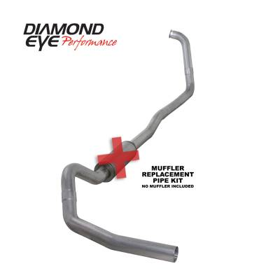 Diamond Eye Performance 2003-2007 FORD 6.0L POWERSTROKE F250/F350 (ALL CAB AND BED LENGTHS) 4in. ALUMINI K4346A-RP