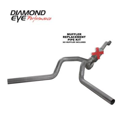 EXHAUST - EXHAUST KITS - Diamond Eye Performance - Diamond Eye Performance 2003-2007 FORD 6.0L POWERSTROKE F250/F350 (ALL CAB AND BED LENGTHS) 4in. 409 STA K4340S-RP