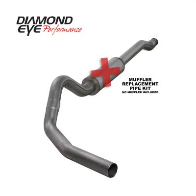 EXHAUST - EXHAUST KITS - Diamond Eye Performance - Diamond Eye Performance 2003-2007 FORD 6.0L POWERSTROKE F250/F350 (ALL CAB AND BED LENGTHS) 4in. 409 STA K4338S-RP
