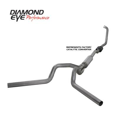Diamond Eye Performance - Diamond Eye Performance 2003-2007 FORD 6.0L POWERSTROKE F250/F350 (ALL CAB AND BED LENGTHS) 4in. 409 STA K4336S
