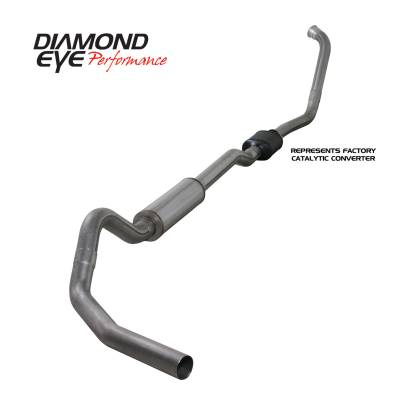 EXHAUST - EXHAUST KITS - Diamond Eye Performance - Diamond Eye Performance 2003-2007 FORD 6.0L POWERSTROKE F250/F350 (ALL CAB AND BED LENGTHS) 4in. 409 STA K4334S