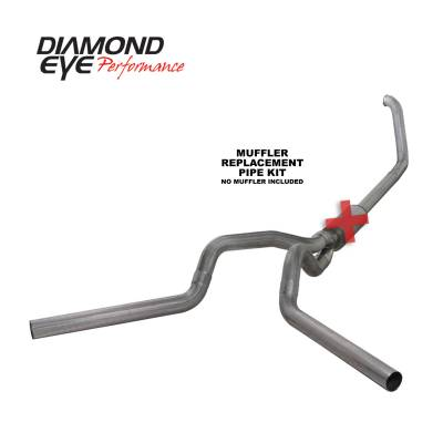 EXHAUST - EXHAUST KITS - Diamond Eye Performance - Diamond Eye Performance 1999-2003.5 FORD 7.3L POWERSTROKE F250/F350 (ALL CAB AND BED LENGTHS) 4in. 409 S K4320S-RP