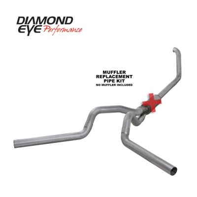 EXHAUST - EXHAUST KITS - Diamond Eye Performance - Diamond Eye Performance 1999-2003.5 FORD 7.3L POWERSTROKE F250/F350 (ALL CAB AND BED LENGTHS) 4in. ALUMI K4320A-RP