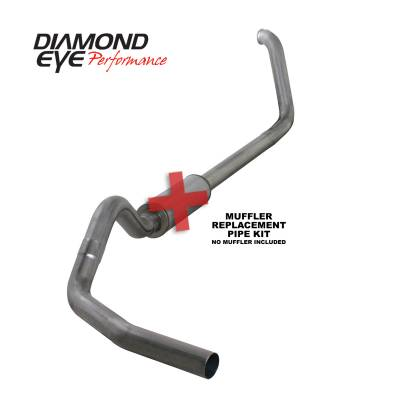 EXHAUST - EXHAUST KITS - Diamond Eye Performance - Diamond Eye Performance 1999-2003.5 FORD 7.3L POWERSTROKE F250/F350 (ALL CAB AND BED LENGTHS) 4in. 409 S K4318S-RP