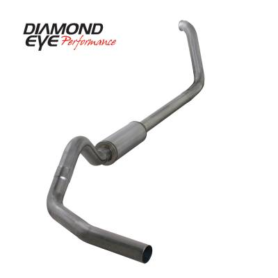 EXHAUST - EXHAUST KITS - Diamond Eye Performance - Diamond Eye Performance 1999-2003.5 FORD 7.3L POWERSTROKE F250/F350 (ALL CAB AND BED LENGTHS) 4in. 409 S K4318S