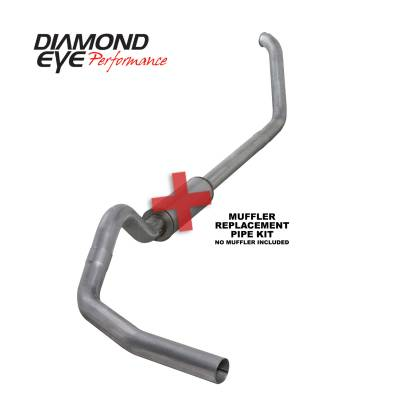 EXHAUST - EXHAUST KITS - Diamond Eye Performance - Diamond Eye Performance 1999-2003.5 FORD 7.3L POWERSTROKE F250/F350 (ALL CAB AND BED LENGTHS) 4in. ALUMI K4318A-RP