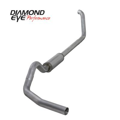EXHAUST - EXHAUST KITS - Diamond Eye Performance - Diamond Eye Performance 1999-2003.5 FORD 7.3L POWERSTROKE F250/F350 (ALL CAB AND BED LENGTHS) 4in. ALUMI K4318A