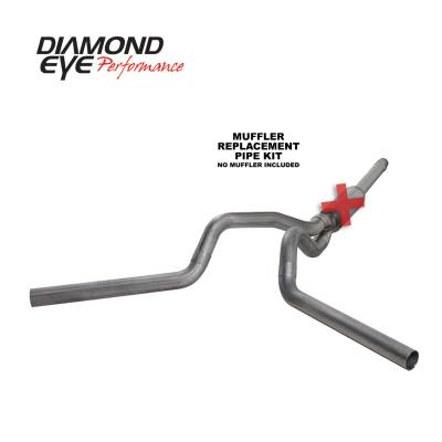 PERFORMANCE - EXHAUST - Diamond Eye Performance - Diamond Eye Performance 1994-1997.5 FORD 7.3L POWERSTROKE F250/F350 (ALL CAB AND BED LENGTHS) 4in. 409 S K4312S-RP