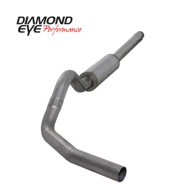 PERFORMANCE - EXHAUST - Diamond Eye Performance - Diamond Eye Performance 1994-1997.5 FORD 7.3L POWERSTROKE F250/F350 (ALL CAB AND BED LENGTHS) 4in. 409 S K4310S