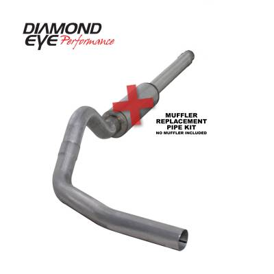 PERFORMANCE - EXHAUST - Diamond Eye Performance - Diamond Eye Performance 1994-1997.5 FORD 7.3L POWERSTROKE F250/F350 (ALL CAB AND BED LENGTHS) 4in. ALUMI K4310A-RP