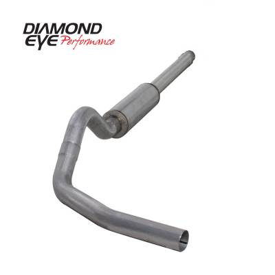 EXHAUST - EXHAUST KITS - Diamond Eye Performance - Diamond Eye Performance 1994-1997.5 FORD 7.3L POWERSTROKE F250/F350 (ALL CAB AND BED LENGTHS) 4in. ALUMI K4310A
