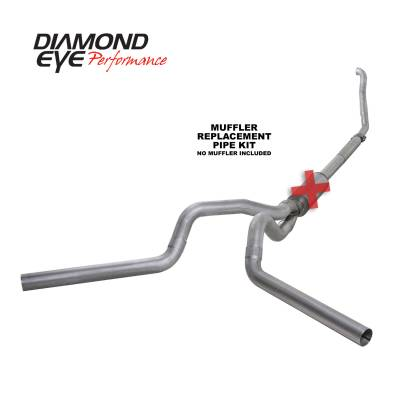 EXHAUST - EXHAUST KITS - Diamond Eye Performance - Diamond Eye Performance 1994-1997.5 FORD 7.3L POWERSTROKE F250/F350 (ALL CAB AND BED LENGTHS) 4in. ALUMI K4309A-RP