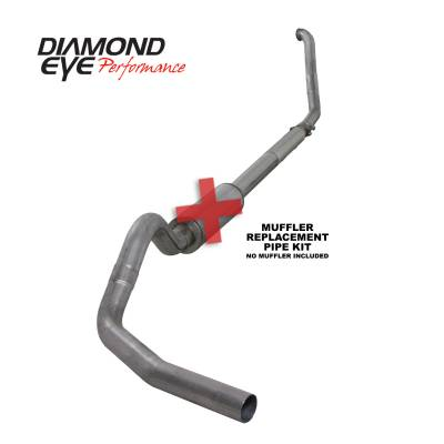 EXHAUST - EXHAUST KITS - Diamond Eye Performance - Diamond Eye Performance 1994-1997.5 FORD 7.3L POWERSTROKE F250/F350 (ALL CAB AND BED LENGTHS) 4in. 409 S K4307S-RP