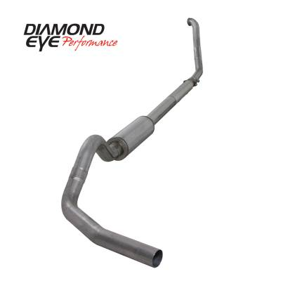 EXHAUST - EXHAUST KITS - Diamond Eye Performance - Diamond Eye Performance 1994-1997.5 FORD 7.3L POWERSTROKE F250/F350 (ALL CAB AND BED LENGTHS) 4in. 409 S K4307S