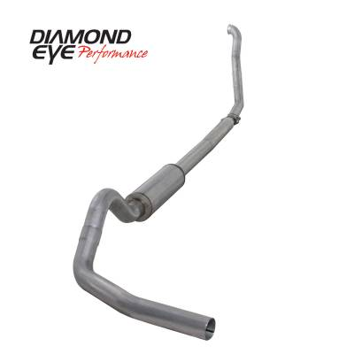 EXHAUST - EXHAUST KITS - Diamond Eye Performance - Diamond Eye Performance 1994-1997.5 FORD 7.3L POWERSTROKE F250/F350 (ALL CAB AND BED LENGTHS) 4in. ALUMI K4307A