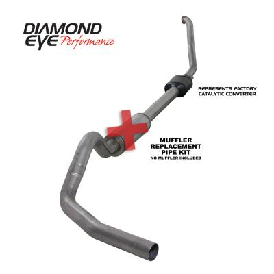 PERFORMANCE - EXHAUST - Diamond Eye Performance - Diamond Eye Performance 1994-1997.5 FORD 7.3L POWERSTROKE F250/F350 (ALL CAB AND BED LENGTHS) 4in. 409 S K4306S-RP