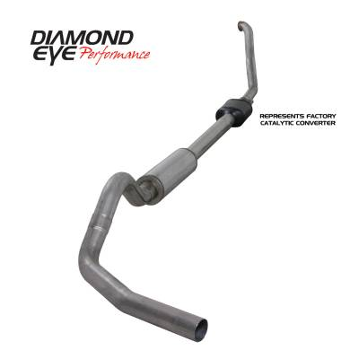 EXHAUST - EXHAUST KITS - Diamond Eye Performance - Diamond Eye Performance 1994-1997.5 FORD 7.3L POWERSTROKE F250/F350 (ALL CAB AND BED LENGTHS) 4in. 409 S K4306S