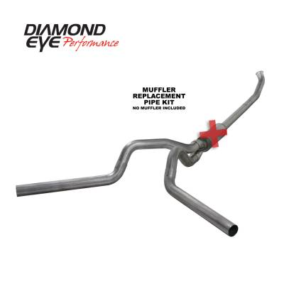 EXHAUST - EXHAUST KITS - Diamond Eye Performance - Diamond Eye Performance 2004.5-2007.5 DODGE 5.9L CUMMINS 2500/3500 (ALL CAB AND BED LENGTHS)-4in. 409 ST K4237S-RP