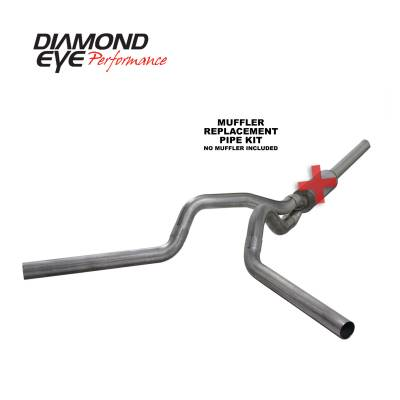 EXHAUST - EXHAUST KITS - Diamond Eye Performance - Diamond Eye Performance 2004.5-2007.5 DODGE 5.9L CUMMINS 2500/3500 (ALL CAB AND BED LENGTHS)-4in. 409 ST K4236S-RP