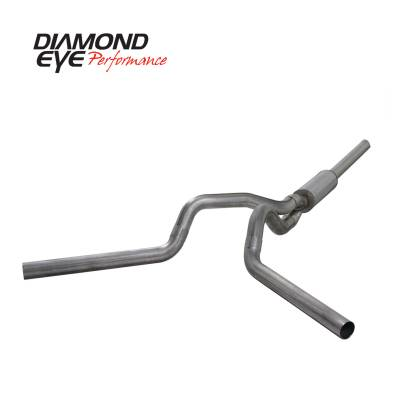EXHAUST - EXHAUST KITS - Diamond Eye Performance - Diamond Eye Performance 2004.5-2007.5 DODGE 5.9L CUMMINS 2500/3500 (ALL CAB AND BED LENGTHS)-4in. 409 ST K4236S