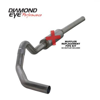 EXHAUST - EXHAUST KITS - Diamond Eye Performance - Diamond Eye Performance 2004.5-2007.5 DODGE 5.9L CUMMINS 2500/3500 (ALL CAB AND BED LENGTHS)-4in. 409 ST K4234S-RP