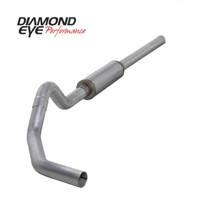 EXHAUST - EXHAUST KITS - Diamond Eye Performance - Diamond Eye Performance 2004.5-2007.5 DODGE 5.9L CUMMINS 2500/3500 (ALL CAB AND BED LENGTHS)-4in. ALUMIN K4234A