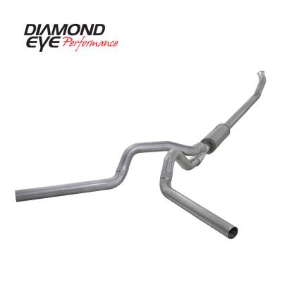 EXHAUST - EXHAUST KITS - Diamond Eye Performance - Diamond Eye Performance 2003-2004.5 DODGE 5.9L CUMMINS 2500/3500 (ALL CAB AND BED LENGTHS)-4in. ALUMINIZ K4220A