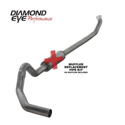 EXHAUST - EXHAUST KITS - Diamond Eye Performance - Diamond Eye Performance 2003-2004.5 DODGE 5.9L CUMMINS 2500/3500 (ALL CAB AND BED LENGTHS)-4in. 409 STAI K4218S-RP